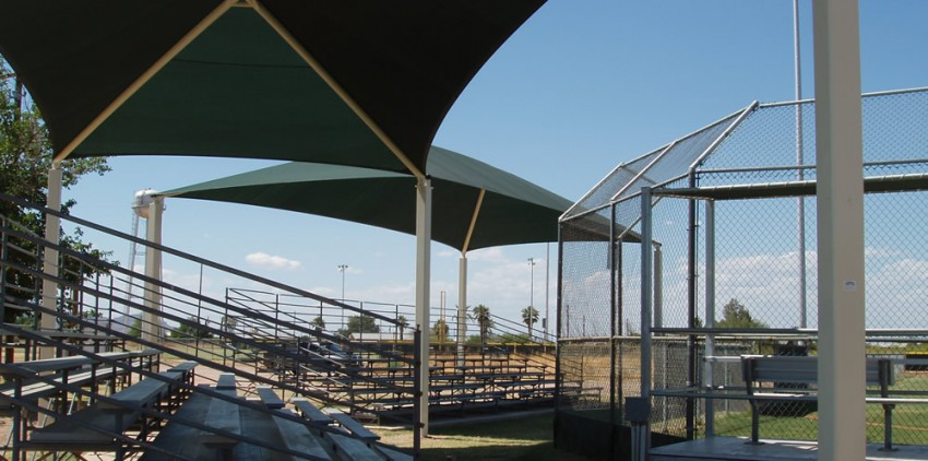 Bleacher Shade Sails