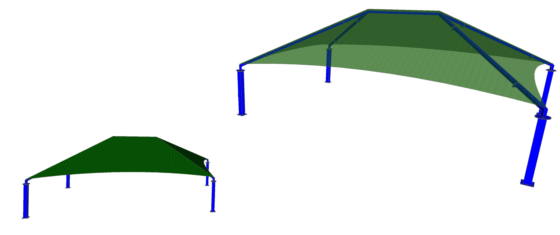 Extreme Span Shade Structure