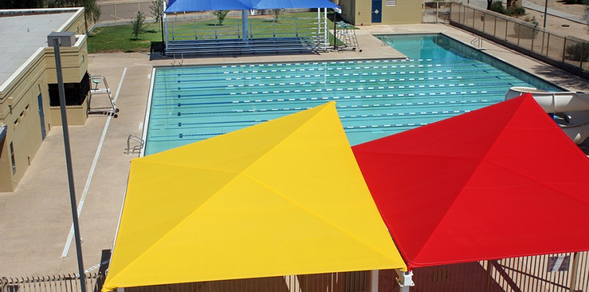 Kit Shade Structure Pool