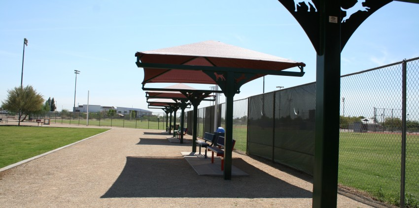 T-Post-Shade-Structure