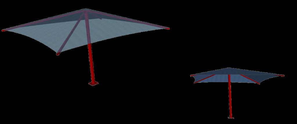 Umbrella Shade Structures