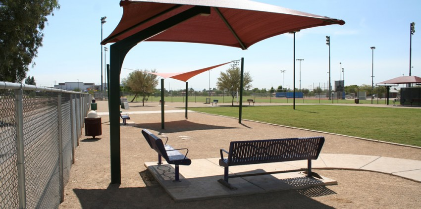 dog park shade structure az