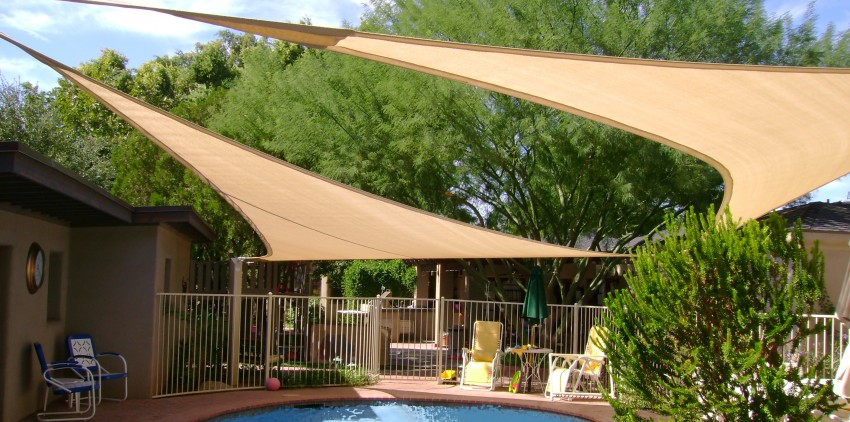 pool shade sails az