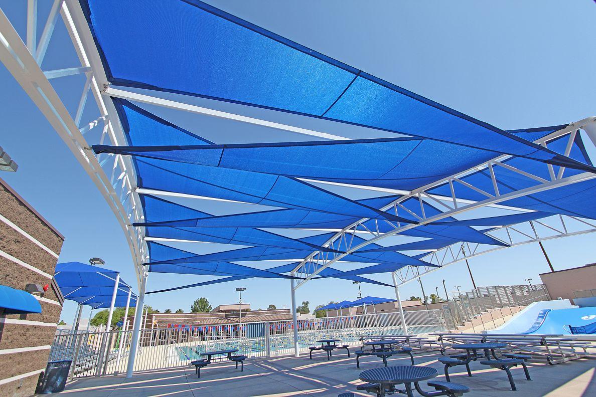 Auto Sun Shades >> Shade 'N Net - Commercial & Residential Shade Sail ...