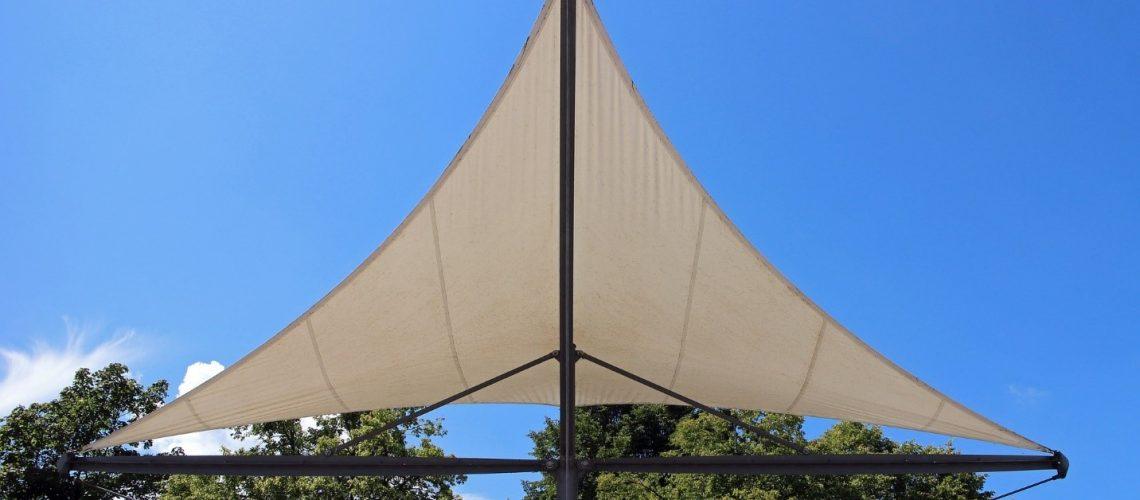 Cream colored sunroof